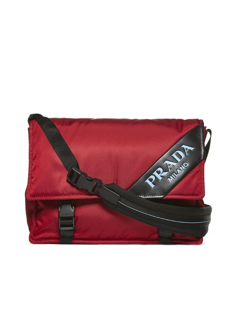 Prada Foldover Shoulder Bag