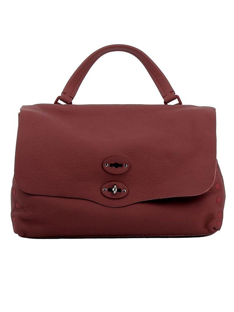 Zanellato Rosa D'epoca Leather Handbag