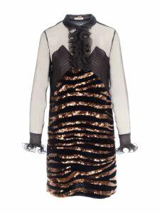 Bottega Veneta Bottega Veneta Sequins Embellishment Dress