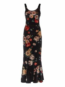 Attico Floral Dress