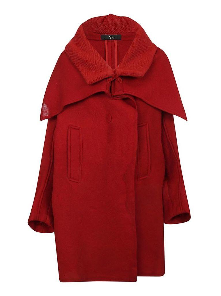 Y's Oversized Cape Coat