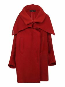 Ys Oversized Cape Coat