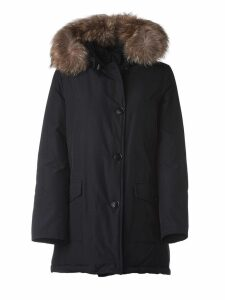 Woolrich Dark Blue Padded Coat