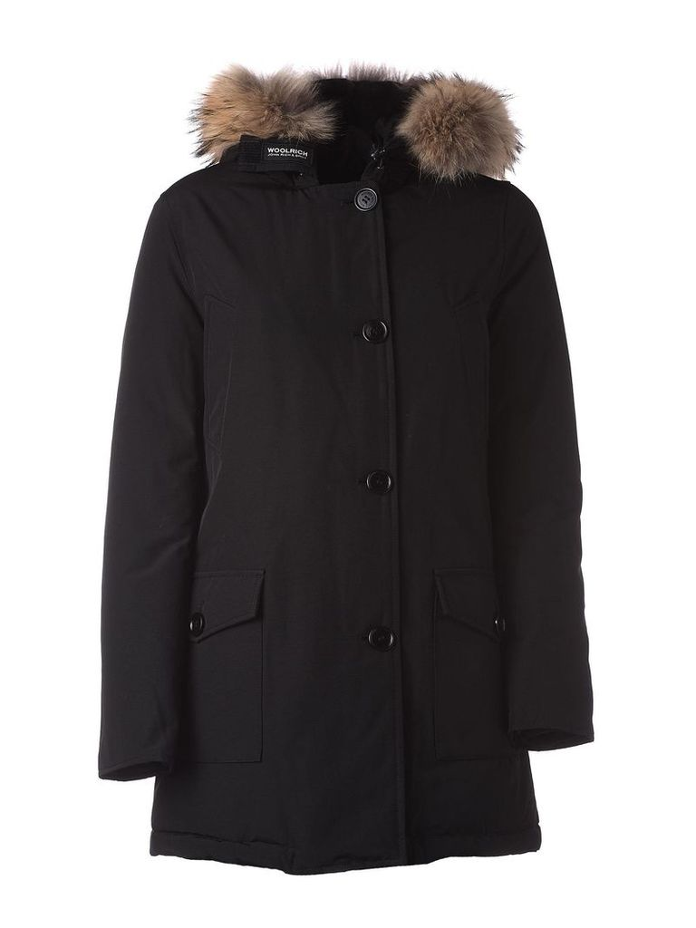 Woolrich Black Winter Parka