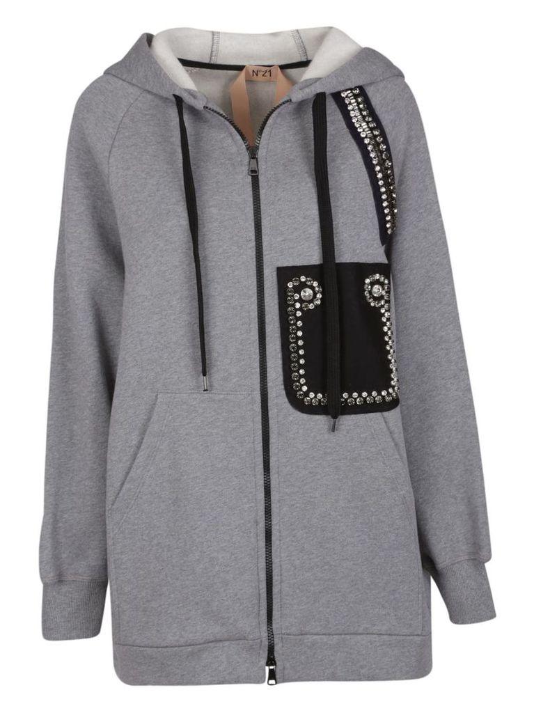 N.21 Oversized Hooded Jacket