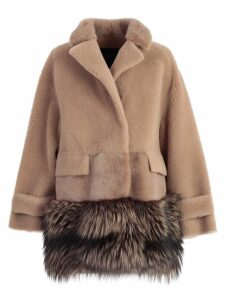 Blancha Fur Paneled Jacket