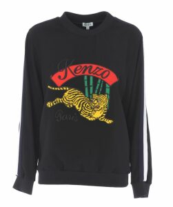 Tiger Motif Sweatshirt