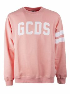 GCDS Striped Trim Sweatshirt