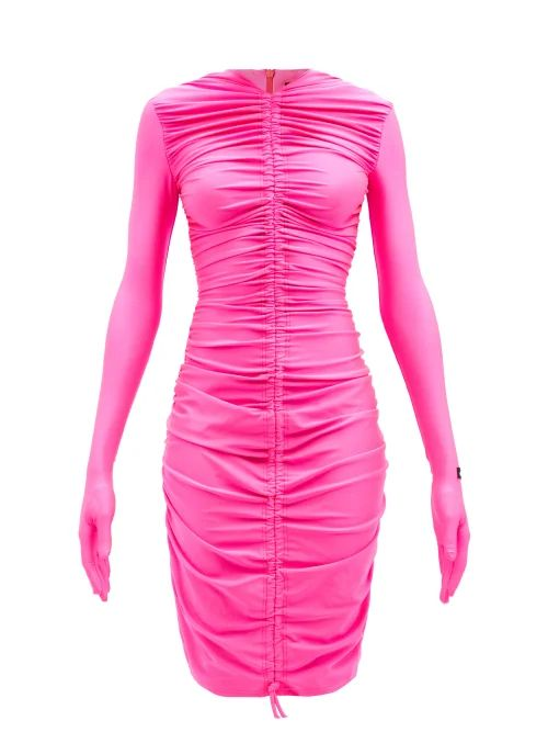Paco Rabanne - Printed Logo Padded Jacket - Womens - Black