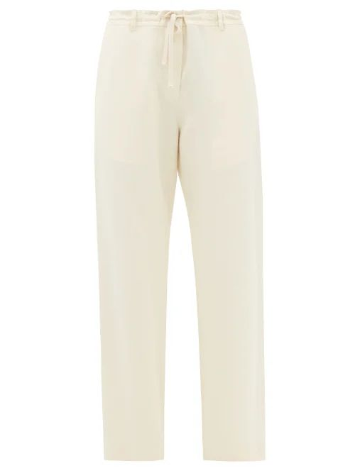 Valextra - Iside Mini Leather Bag - Womens - Beige