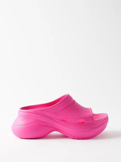 Stella Mccartney - Falabella Faux Leather Tote Bag - Womens - Grey