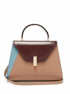 Valextra - Iside Medium Leather Bag - Womens - Nude Multi