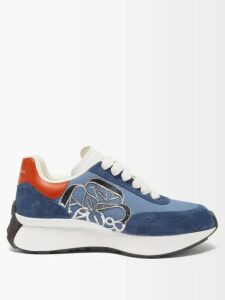 Noki - Customised Street Couture T Shirt - Womens - Blue