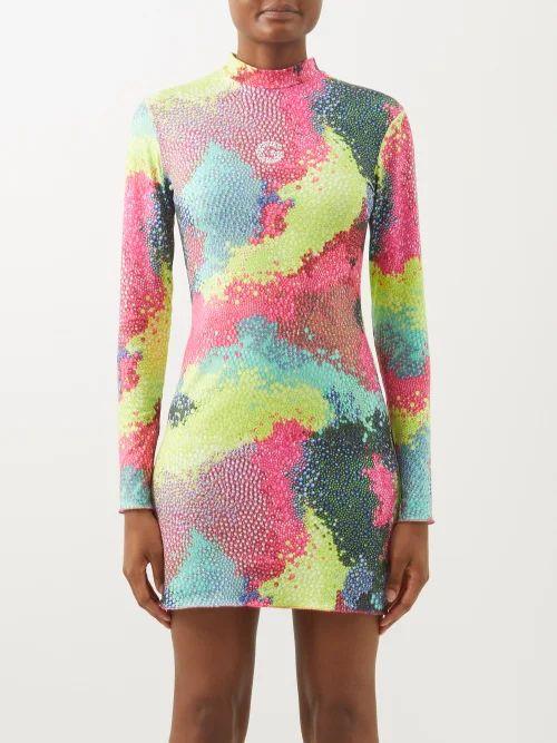 Raey - Silk Pencil Skirt - Womens - Black
