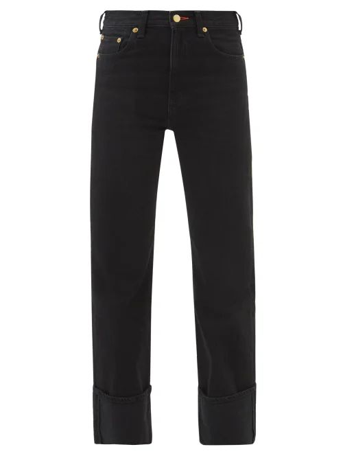 The Row - Tralman Shearling Coat - Womens - Grey