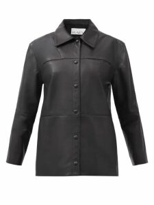 Erdem - Jasper Houndstooth Checked Wool Blazer - Womens - Black White