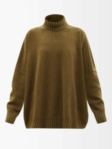 Alexachung - Belted Checked Wool Blend Coat - Womens - White Print