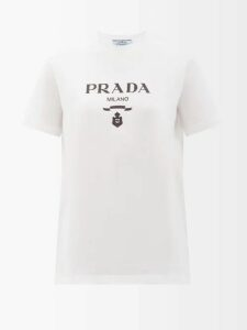 Fendi - Houndstooth Virgin Wool Blend Blazer - Womens - Grey Multi
