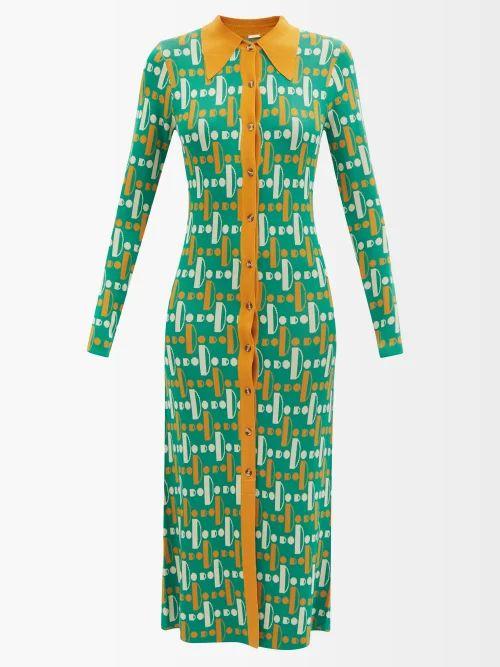 Sea - Tradition Technical Fabric Blazer - Womens - Dark Green