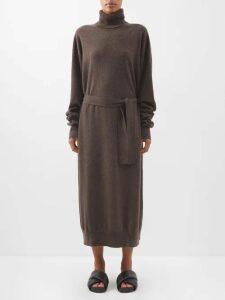 Raey - Gathered Silk Sleeveless Smock Top - Womens - Black
