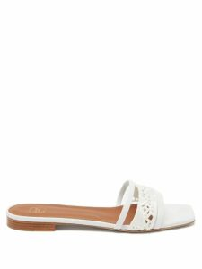 Martine Rose - Utopia Patch Frosted Raincoat - Womens - Pink