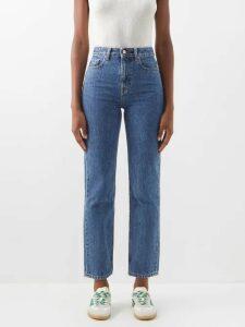 Mary Katrantzou - Picket Parade Printed Matelassé Cropped Jacket - Womens - Pink White