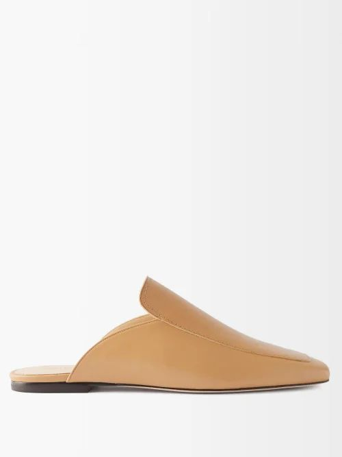 Raey - Stab Stitch Satin Dolman Sleeve Coat - Womens - Ivory