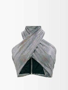 Raey - Stab Stitch Satin Dolman Sleeve Coat - Womens - Ivory