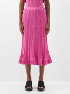 Mary Katrantzou - Caramolengo Jewel Print Silk Dress - Womens - Multi