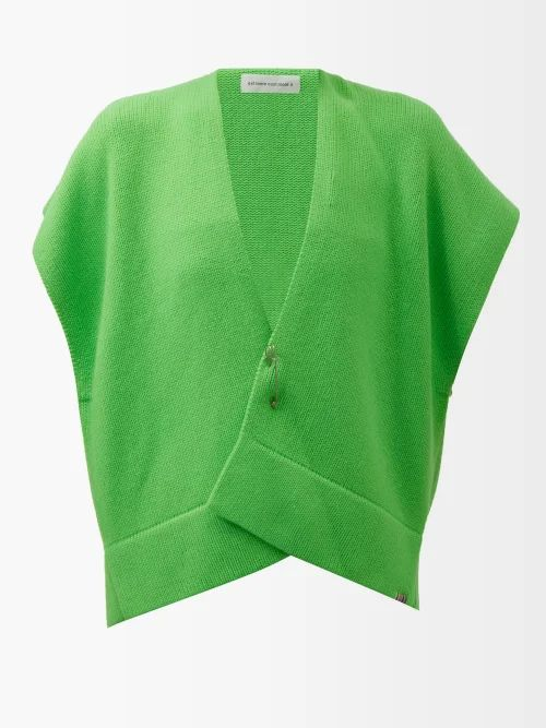 Fendi - Double Breasted Checked Wool Blazer - Womens - Brown Multi