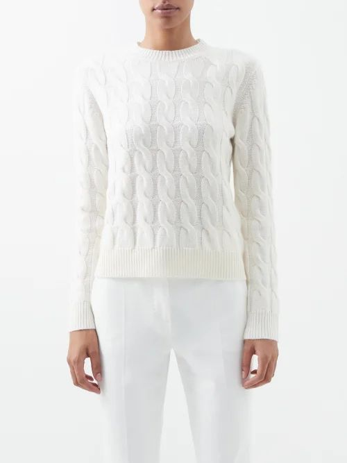 Inès & Maréchal - Dorota Double Breasted Shearling Jacket - Womens - Red