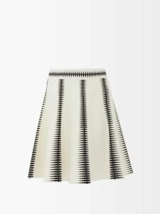 Preen By Thornton Bregazzi - Edie Asymmetric Gown - Womens - Red