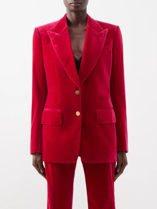 The Row - Essa Pleated Silk Jacquard Skirt - Womens - Mid Green