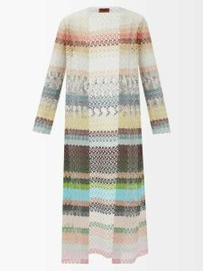 Khaite - Marina Puffed Sleeve High Neck Crepe Dress - Womens - Red