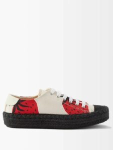 Roksanda - Mahria Asymmetric Silk Satin Skirt - Womens - Pink Multi