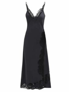 Golden Goose - Cristal Wool Blend Coat - Womens - Navy