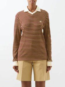 Raey - Broken Stripe Print Silk Shirtdress - Womens - Grey Multi