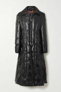 SAINT LAURENT - Double-breasted Grosgrain-trimmed Wool Blazer - Red