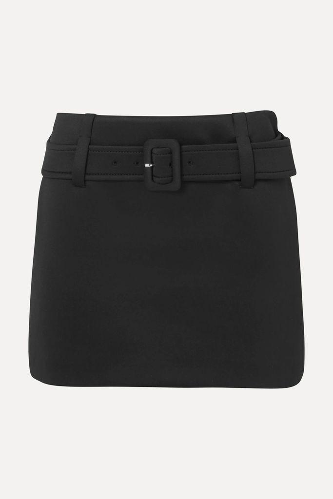 SAINT LAURENT - Wool Coat - Black