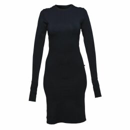 Nissa - Elegant Dress With Sequin Details On Sleeves
