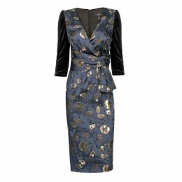 Nissa - Bodycon Dress With Floral Details