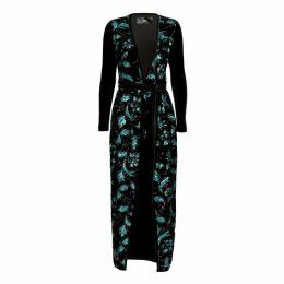 Nissa - Midi Velvet Dress
