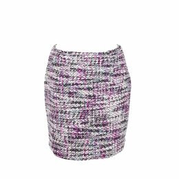 Asneh - Stella Blue Printed Silk Dress