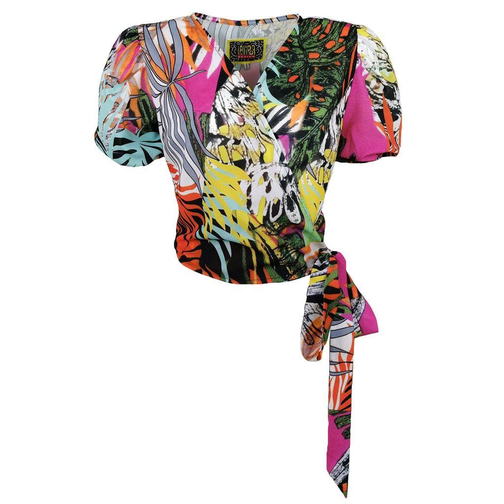 VIDA VIDA - Lunar Black Beauty Queen Leather Wash Bag