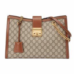 Padlock medium GG shoulder bag