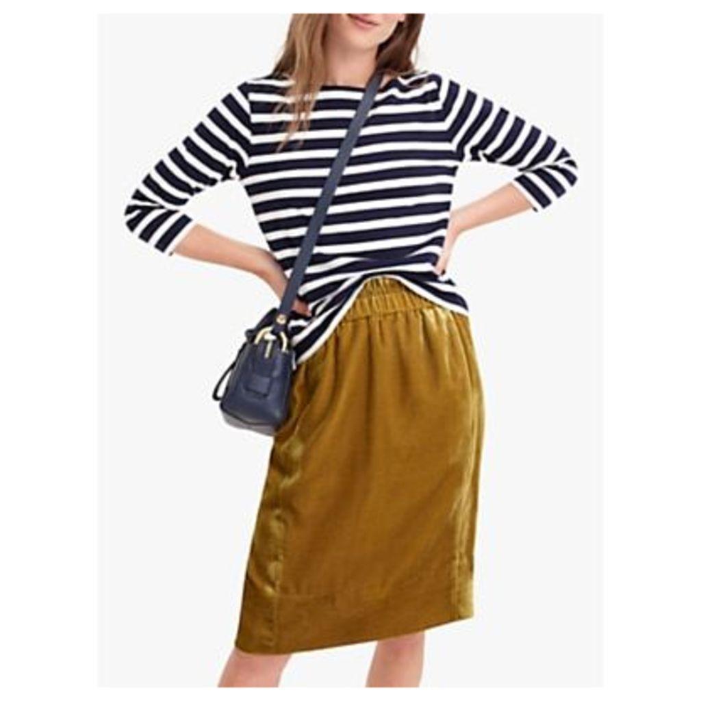 J.Crew Velvet Pull-On Skirt