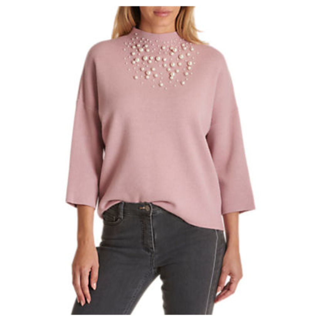 Betty Barclay Pearl Embellished Knit Jumper