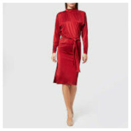 Gestuz Women's Philo Dress - Red Dahlia - XS - Red
