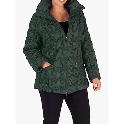Chesca Bonfire Embroidered Quilted Coat