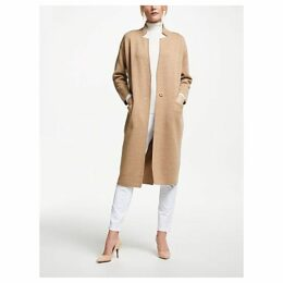 Winser London Double Faced Coat, Neutral/Camel